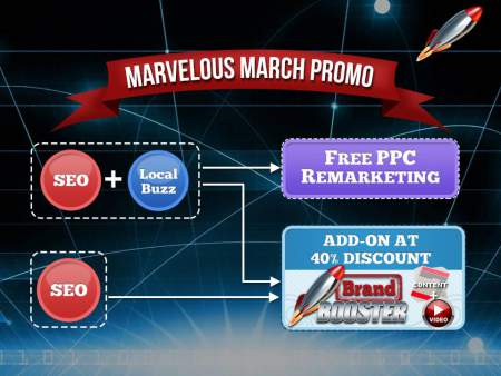 Marvelous March Promo