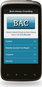 Optimized Mobile Website