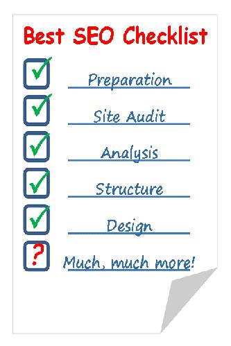 free content - SEO Checklist