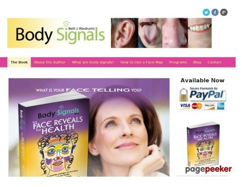 Body Signals Book by Elizabeth Wardrum