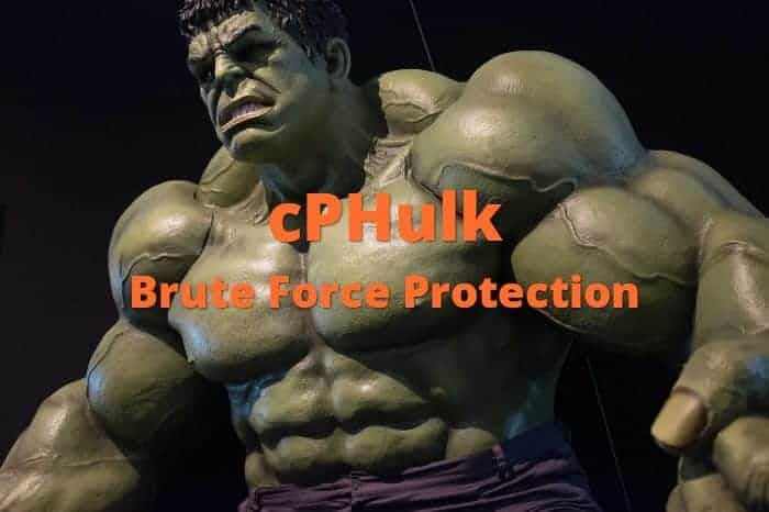 cPHulk Brute Force Protection Security
