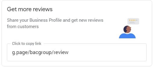 Google My Business reviews link