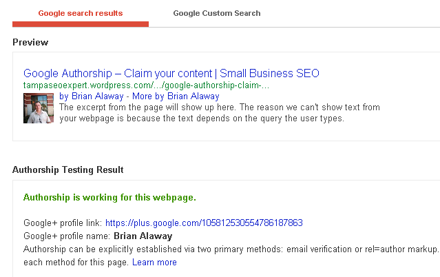 google authorship wordpress.com