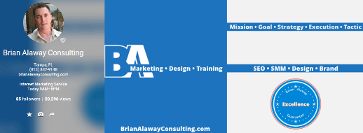 Google+ Brian Alaway Consulting