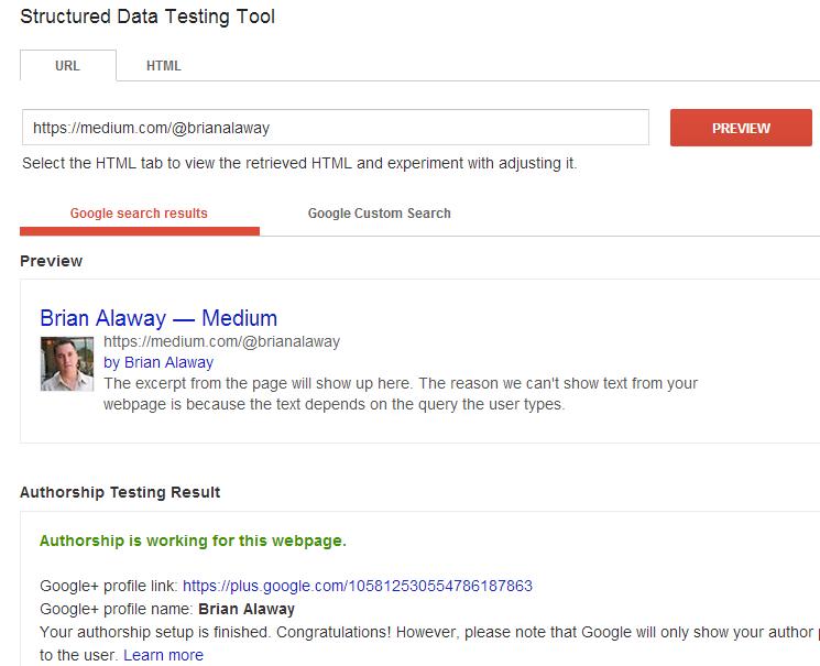 google authorship on medium slide 8