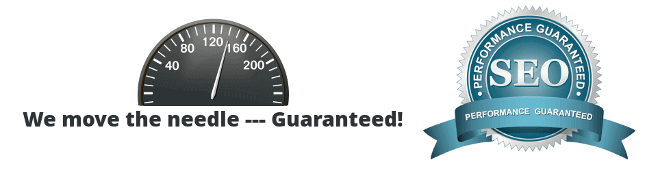 seo speedometer needle plus seo performance guarantee