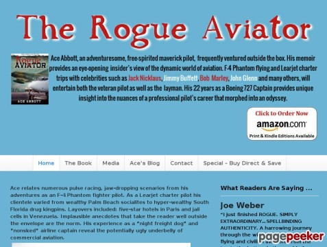 The Rogue Aviator by Al (aka Ace Abbott) Morris