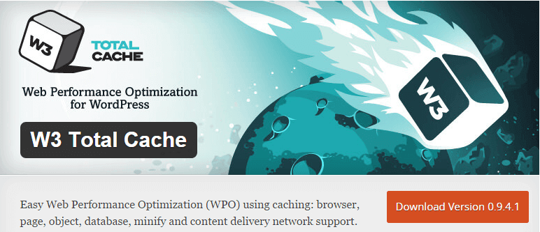 w3 total cache - web performance optimization for wordpress