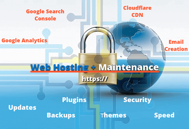 Web Hosting Plus Webmaster Services