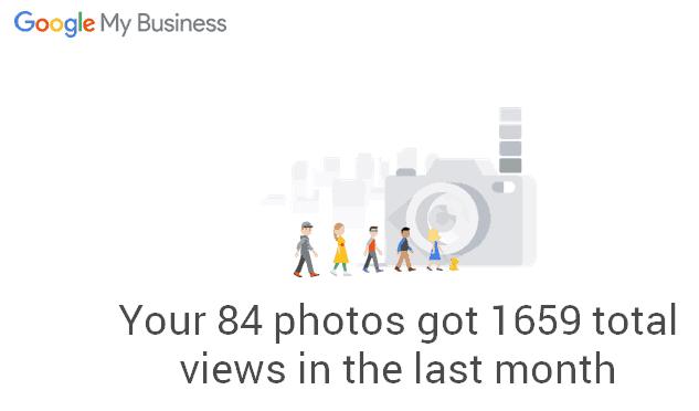 1659 Google My Business photo views