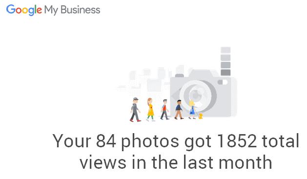 1852 Google My Business photo views